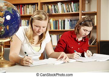 opravdový, studovaní