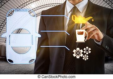 opretholdelsen, og, køretøj, begreb