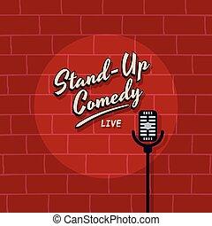 opstaat komedie