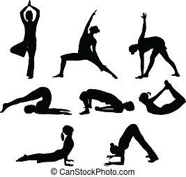 opstille, yoga
