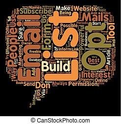 opt, concept, égratignure, liste, comment, wordcloud, construire, fond, texte, email