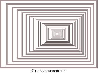 Optic effect