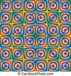 Optic illusion illustration