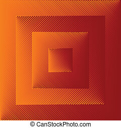 optical art, abstract squares