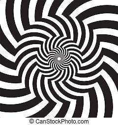 Optical Art Infinity Tunnel Vortex