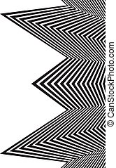 optical art opart striped wavy background abstract waves...