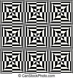 Optical Boxes Pattern