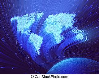 Optical Fiber Background