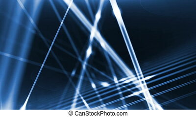 """Optical fibers of fiber optic cable. Internet technology"""