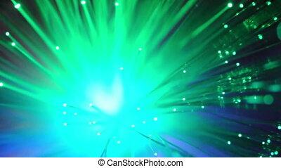 Optical fibers of fiber optic cable