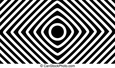 Abstracts Spiral Tunnel Animations. Hand Drawn Style with ...