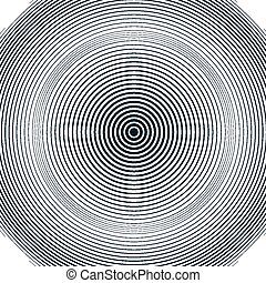 Optical illusion, moire background