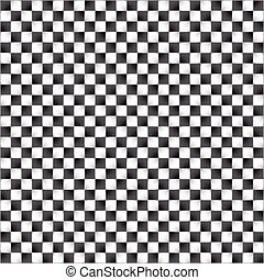 Optical illusion. Vector illustration.