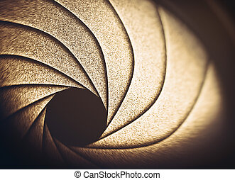 Optical Lens Diaphragm Macro Photography