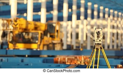 Optical Theodolite, Builders Theodolite, construction...