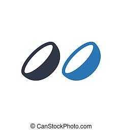 optics glyph color icon