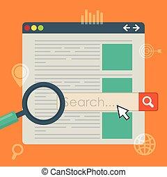 optimisation moteur recherche, conception
