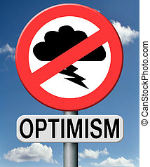 optimism, optimistic and positive thinking