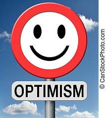 optimist - optimism think positive as an optimist and enjoy...