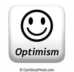 optimism think positive having a positivity attitude leads ...