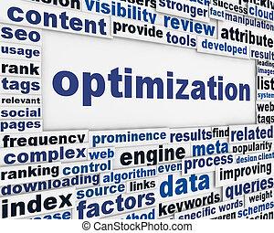 optimization, 消息, 背景