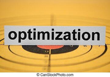 optimization, cible