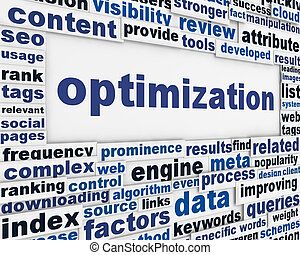 Optimization message background