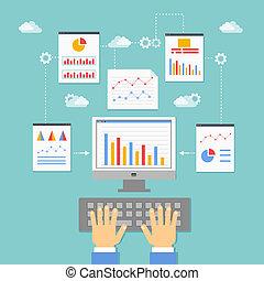 optimization, programming and analytics - web application...