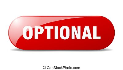 optional button. sticker. banner. rounded glass sign - ...