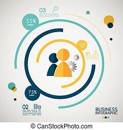 options., 3, infographic, affari moderni