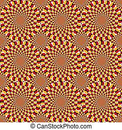 optique, filer, illusion, cycle
