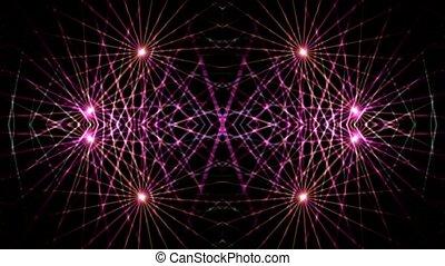 optique, rayon, lumière laser, fibre