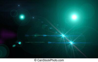 optisch, leuchtsignale