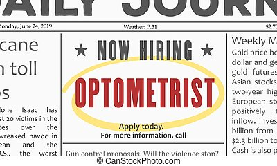 Optometrist career