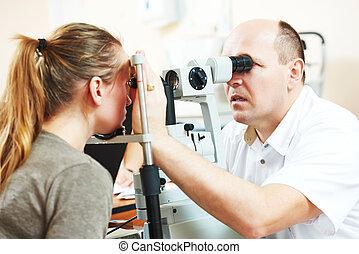 optometry, ∥あるいは∥, 眼科学, 成人