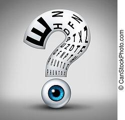 optometry, 質問