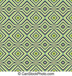 optyczny, zielony, skutek, struktura