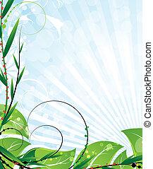 opulent, végétation