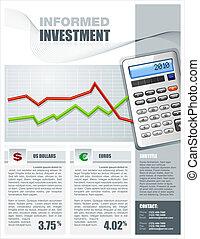 opuscolo, investimento finanziario