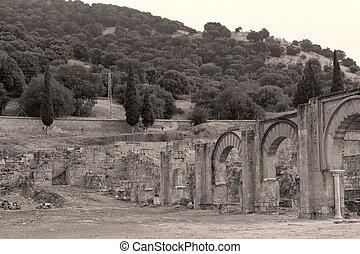 opuszczony, historyczny, wieś