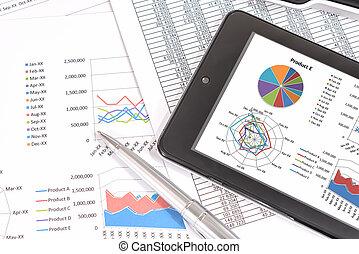 opvoering, analysis., zakelijk