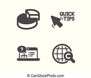 ??opyright, aiuto, segno., torta, icons., grafico, vettore, linea, rapido, internazionale, punte