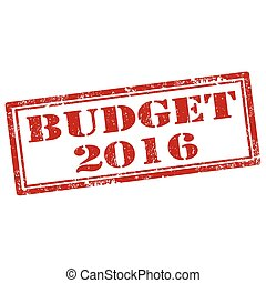 orçamento, 2016-stamp