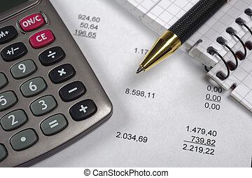 orçamento, cálculo
