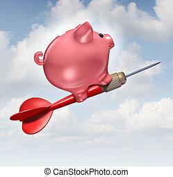 orçamento, meta