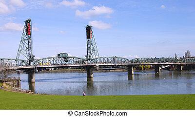 or., ポートランド, hawthorne, 橋