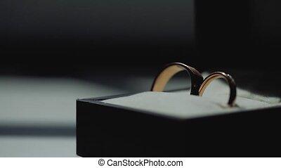 or, anneaux, pousse, diamon, lensflare, bijoux, closeup,...