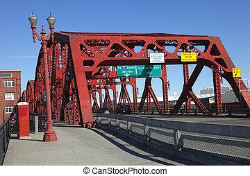 or., broadway, ポートランド, 橋