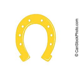 or, horseshoe.