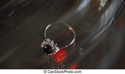 or, lensflare, alliances, macro, diamon, closeup, bijoux,...